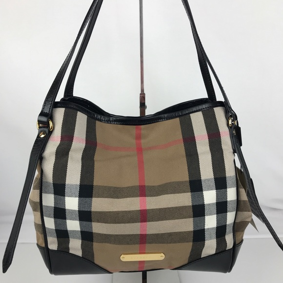 5ed855aa48f Burberry Bags   Bridle House Check Small Canterbury Tote   Poshmark
